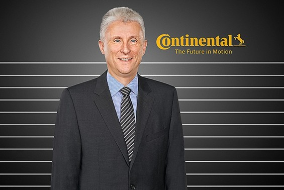Dr. Andreas Esser, Executive Vice President and Head of Business Unit Commercial Vehicle Tires (Image: Continental AG)