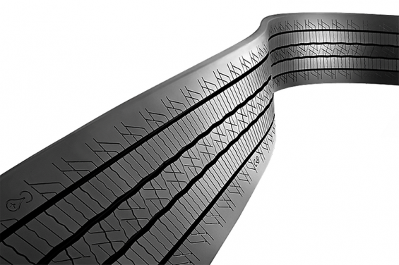 The new ContiTread™ tread Conti CityPlus HA3 for cold retreading of tires on regional buses. (Photo: Continental AG)