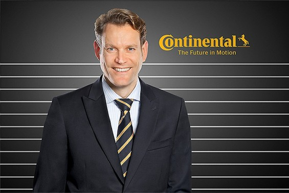 Nikolai Setzer, Continenal Executive Board Member and Head of Tire Division (Photo: Continental AG)